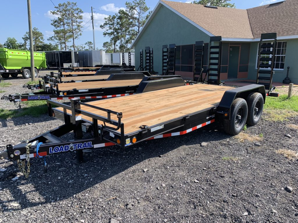7x18 7k Load Trail equipment trailer