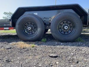 Tandem 7, 000 lbs Dexter axles