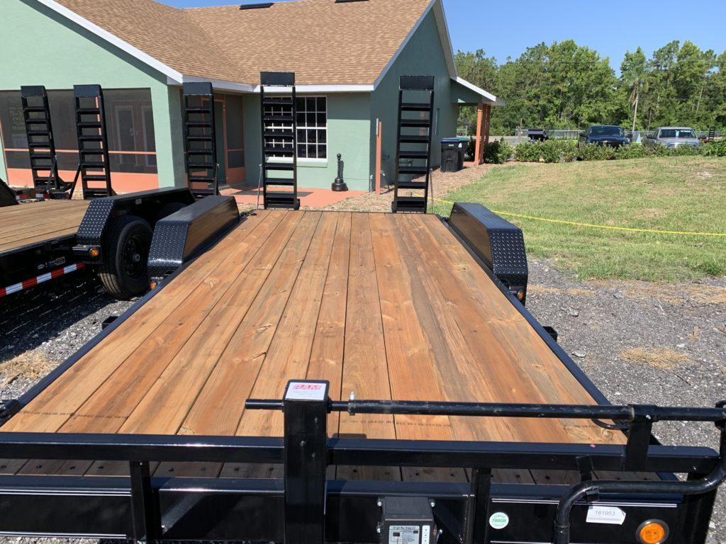 7 x 18 Load Trail Equipment trailer