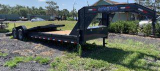 26-ft Load Trail Goose neck tilt deck