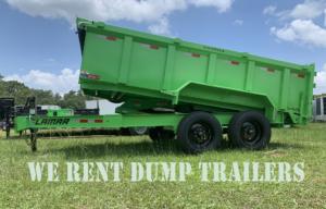 went rent dump trailers